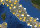 Le previsioni meteo per lunedì 17 maggio