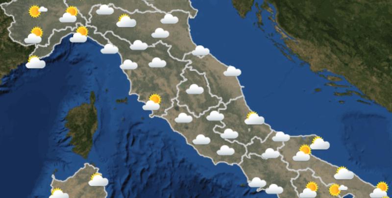 Meteo Italia Cartina.Le Previsioni Meteo Per Domenica 16 Maggio Il Post