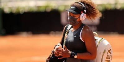 La tennista Naomi Osaka si è ritirata dal Roland Garros