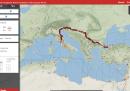 Il Google Maps per simulare un viaggio nell'Impero Romano