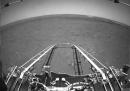 Le prime foto da Marte del rover cinese Zhurong