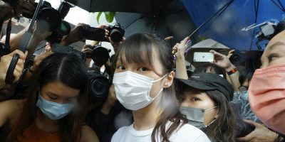 L'attivista di Hong Kong Agnes Chow è stata liberata