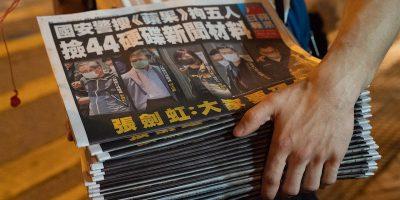 L'ultimo giornale libero di Hong Kong rischia di chiudere