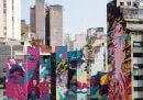 San Paolo si è riempita di street art