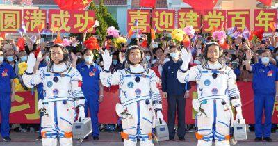 La Cina ha mandato i primi astronauti sulla sua nuova Stazione spaziale