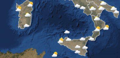 Le previsioni meteo per domenica 6 giugno