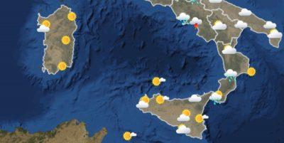 Le previsioni meteo per lunedì 7 giugno