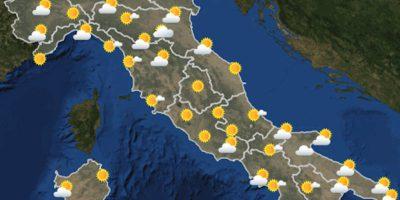 Le previsioni meteo per domenica 13 giugno