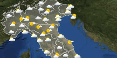 Le previsioni meteo per mercoledì 9 giugno