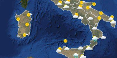 Le previsioni meteo per sabato 12 giugno