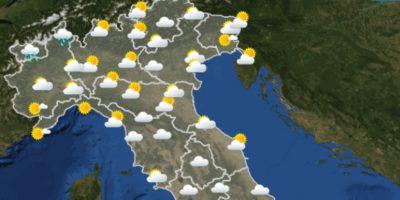 Le previsioni meteo per sabato 5 giugno