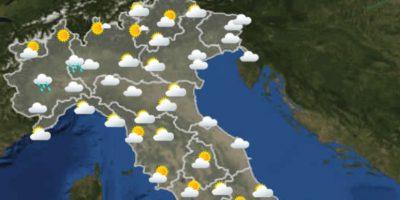 Le previsioni meteo per venerdì 11 giugno