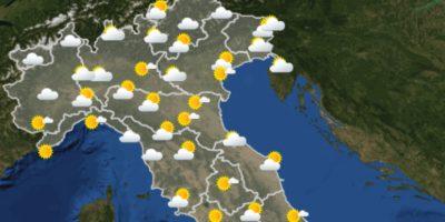 Le previsioni meteo per venerdì 4 giugno