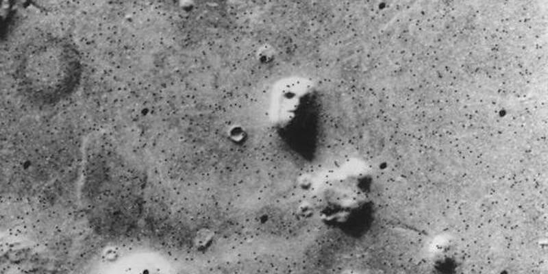pareidolia Marte