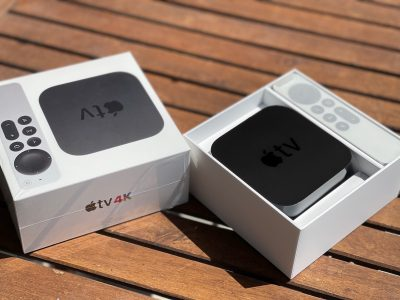 La confezione della Apple Tv 4K