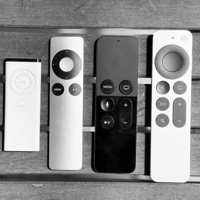 I telecomandi delle mie Apple Tv –Foto © Antonio Dini