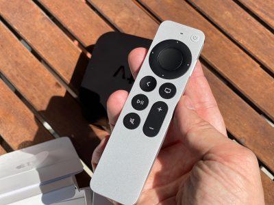 Il nuovo telecomando di Apple Tv