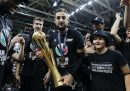 La Virtus Bologna ha vinto lo Scudetto del basket