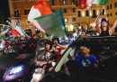 Le foto dei festeggiamenti per gli Europei nelle città italiane