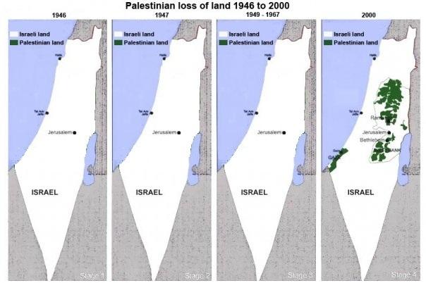 Cartina Geografica Palestina E Israele.La Mappa Bugiarda Su Israele E Palestina Giovanni Fontana
