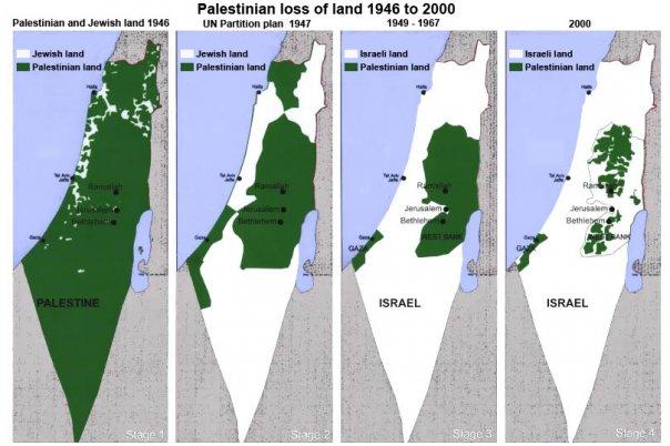 Cartina Israele E Palestina Oggi.La Mappa Bugiarda Su Israele E Palestina Giovanni Fontana